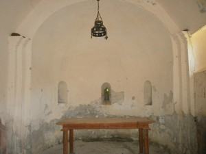 Casa Conques. Interior Ermita de San Esteban