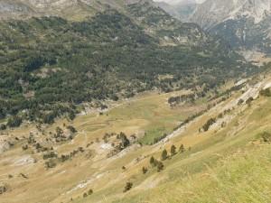 Pla d'Estañ desde La Picada