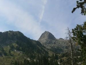 Pico La Renclusa, desde el refugio de La Besurta