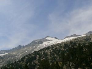 El Pico Aneto y su glaciar