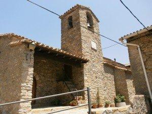 Barbaruens. Iglesia de San Félix