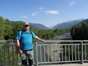 Biescas. Puente sobre el río Gállego