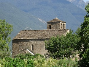 Orós Bajo. Iglesia de Santa Eulalia