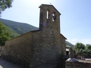 Orós Alto. Iglesia de San Esteban