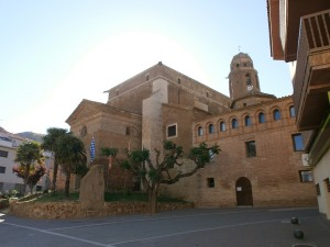 Albelda. Colegiata San Vicente