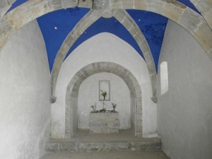 Samitier. Ermita Santa Waldesca