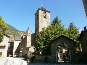 Benasque. Iglesia Santa María