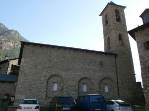 Eriste. Iglesia de San Félix