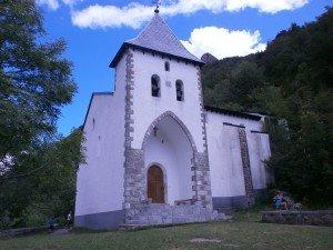Biescas. Ermita de Santa Elena