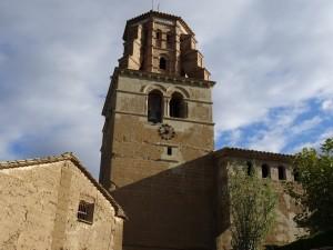 Sieso. Torre de la iglesia parroquial
