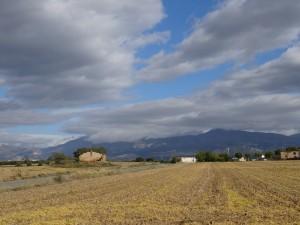 La sierra de Guara, camino de Casbas de Huesca