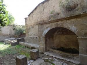 Casbas de Huesca. Fuente y lavadero