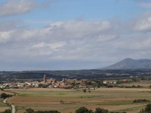 Casbas de Huesca, desde la ermita de San José