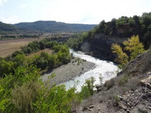 Río Ésera. Camino de Torre de Obato (Torrobato)