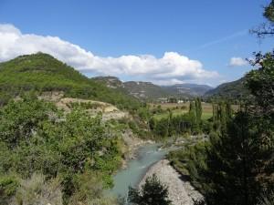 Río Ésera. Valle de Santaliestra
