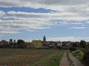 Llegando a Casbas de Huesca