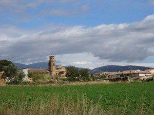 Casbas de Huesca. Camino de Junzano