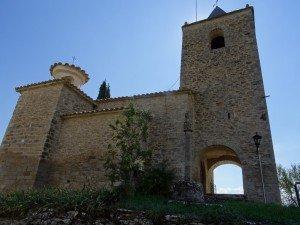 Torre de Obato. Iglesia de San Pedro