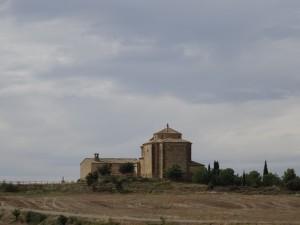 Ermita de San Román. Camino de Azara