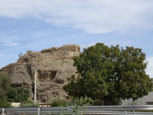 Azara. Piedra-Castillo de Santa Margarita