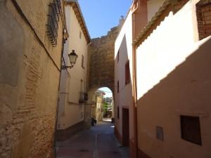 Antillón. Puerta de entrada de las murallas