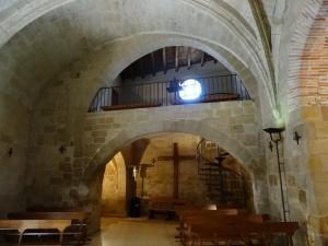 Antillón. Interior iglesia de Natividad de Ntra. Sra.