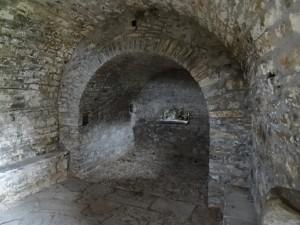 Oncins. Interior Ermita La Magdalena