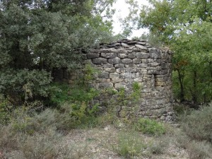Lascuarre. Ruinas ermita de San Vicente
