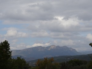 Camino de Lascuarre. Morrón de Güell