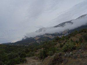 Camino San Victorián. Peña Montañesa