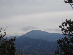 Camino de San Victorián. Pico Campanué