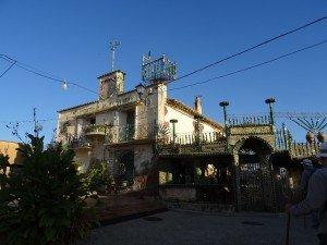 Monesma. Original vivienda