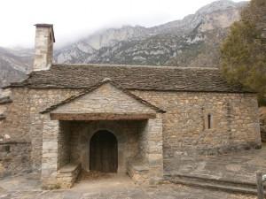 Ermita Virgen del Pilar. Camino de Oncins