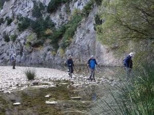Rodellar. Cauce río Mascún