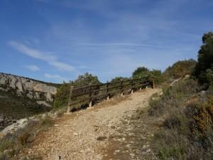 Alquézar. Camino de las Balsas de Basacol