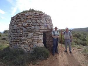 Camino de los abrigos de Quizáns. Refugio