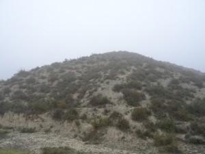 Fonz. Camino de Cofita, zona de yesos
