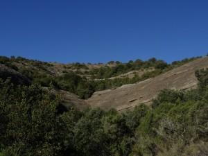 Barranco Arruellos. Zona conglomerados
