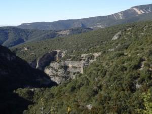 Camino la Cunarda. Barranco Tacho