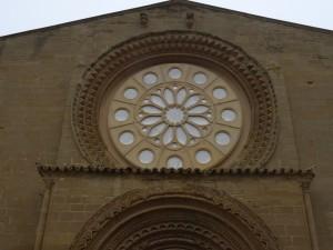 Huesca. Nuestra Señora de Salas. Rosetón