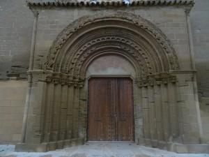 Huesca. Portada Nuestra Señora de Salas