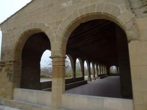 Huesca. Claustro Nuestra Señora de Salas