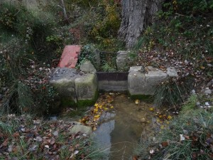 Tierz. Distribuidores del agua en acequias