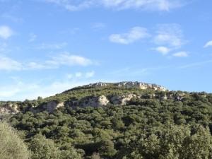 Camino del Mesón de Sevil. Abrigos de Quizáns