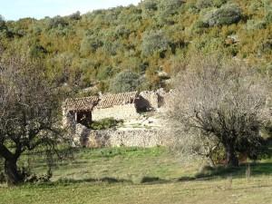 Antigua majada, camino del Mesón de Sevil