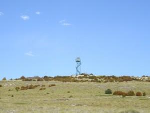 Torre de vigilancia. Tozal de Sevil