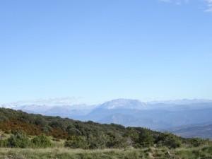 El Turbón. Camino del Cerro de Quizáns