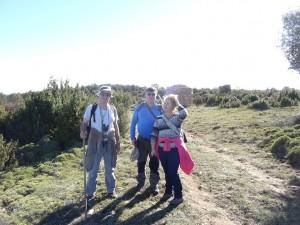 Camino del Cerro de Quizáns