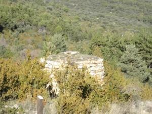 Refugio al comienzo camino Chimiachas