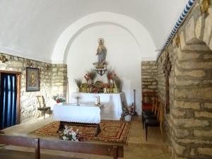 San Pelegrín. Interior iglesia